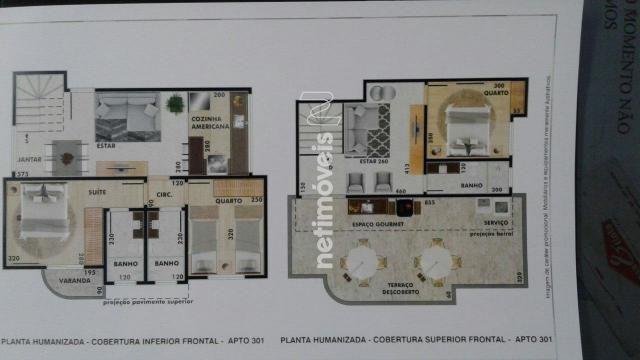 Apartamento à venda com 2 dormitórios em Vila ermelinda, Belo horizonte cod:769610