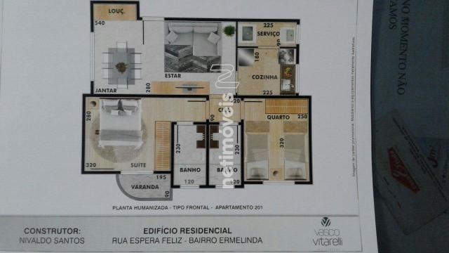 Apartamento à venda com 2 dormitórios em Vila ermelinda, Belo horizonte cod:769610 - Foto 3