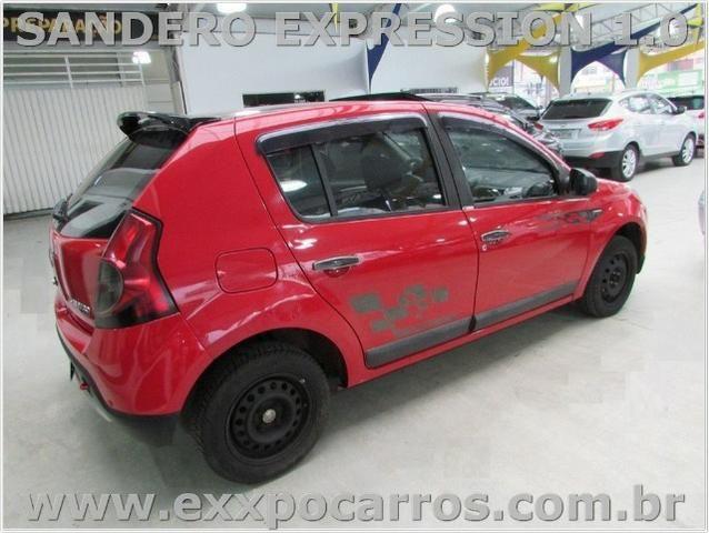 Renault Sandero Expression 1.0 Flex - Ano 2010 - Teto Solar - Bem Conservado - Foto 3
