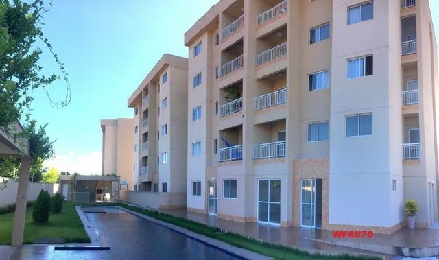 Apartamento para alugar em Fortaleza, bairro cajazeiras, 2 quartos, elevador, lazer