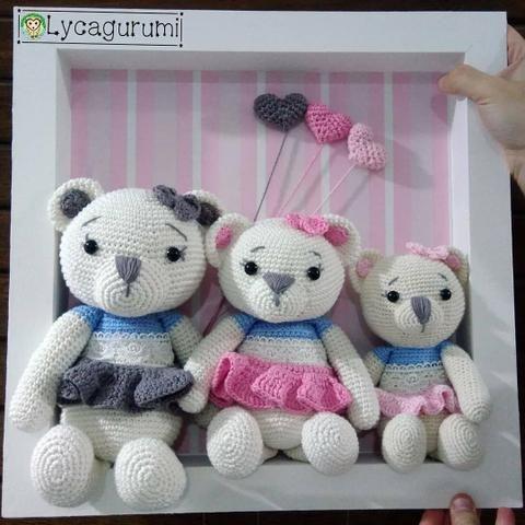 Anabu Crochet - Enfeite de porta para o baby da... | Facebook | 480x480