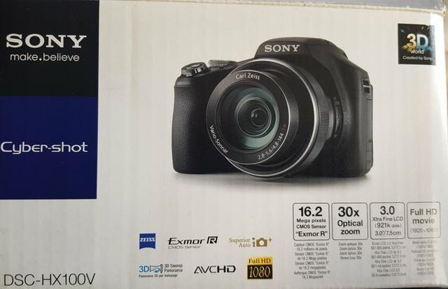 Câmera Sony DSC-HX100V