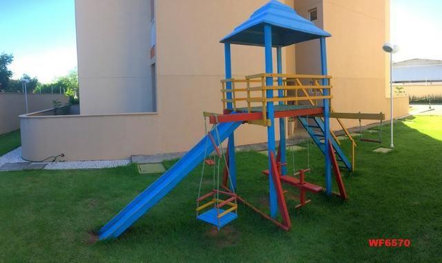 Apartamento para alugar em Fortaleza, bairro cajazeiras, 2 quartos, elevador, lazer - Foto 6