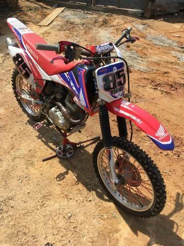 Vendo ou troco honda Crf 230cc - Foto 7