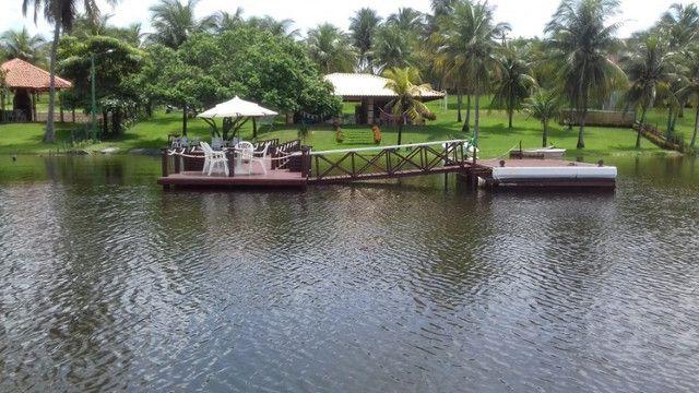 Casa na Lagoa do Uruaú, 17.500m² de área total, condomínio fechado, piscina - Foto 13
