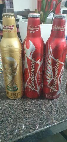 Coleção completa de garrafas de carveja e Coca cola. Cheias lacradas - Foto 2
