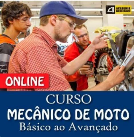 Curso online de mecânica de Motos