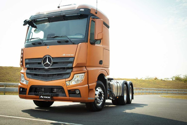 MB Actros 2648 6x4 MP5 Completo Aut 2021 - Foto 3