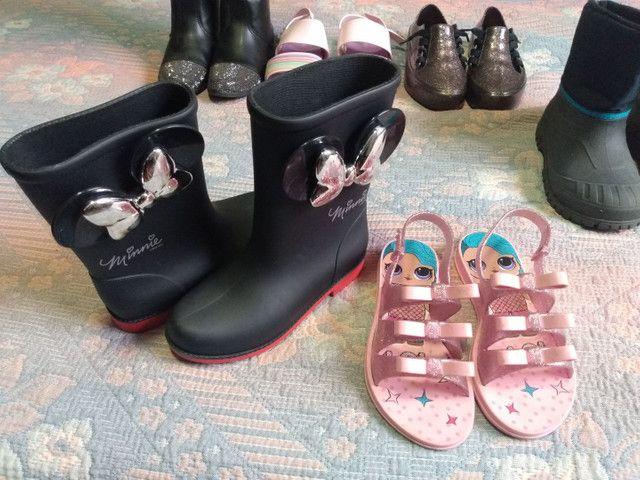 Sapatos botas sandália infantil - Foto 2