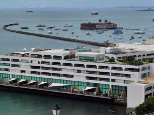 Apartamento Porto Trapiche 1 Quarto 94m2 Nascente Vista Mar Decorado Orla Contorno
