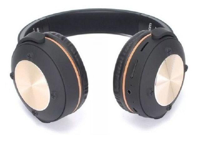 R$124,90 - Headphone Fone De Ouvido Exbom Hf-500bt Bluetooth Sem Fio - Foto 5
