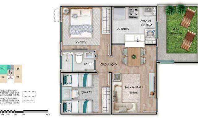 Residencial Monte Berlim - Apartamento 2 quartos em São Carlos, SP - ID3855 - Foto 9