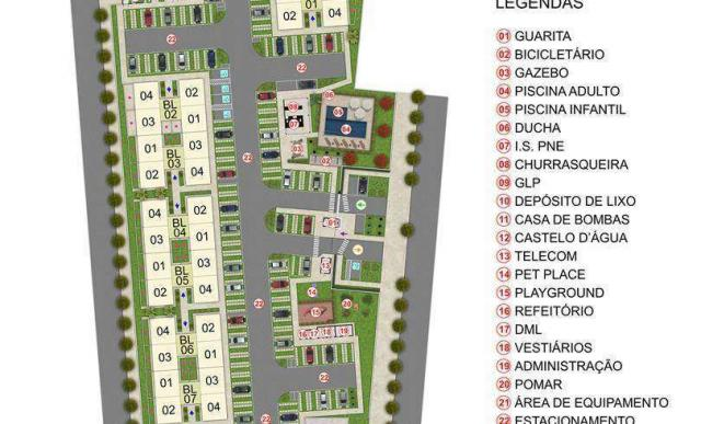 Chapada dos Ipês - Apartamento de 2 quartos em Várzea Grande, MT - ID3963 - Foto 7