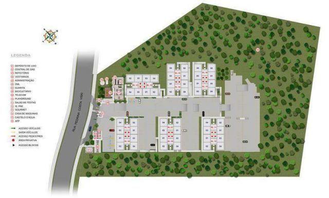 Residencial Costa Dourada - Apartamento de 2 quartos em São José dos Pinhais, PR - ID3903 - Foto 4
