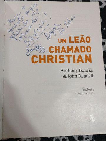 Livro um leão chamado Christian - Foto 4