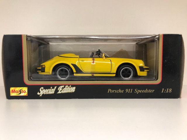 Porsche Speedster Carrera Maisto IMPECÁVEL