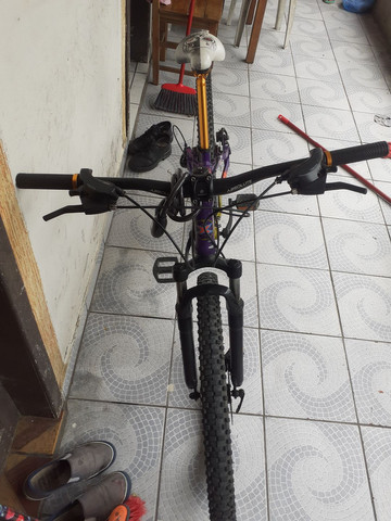 Bike aro26 vinkingx semi nova - Foto 4