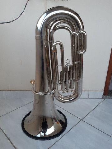 Tuba weril J310 em dó excelente estado  - Foto 2