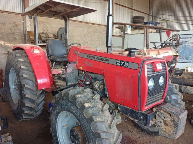 Trator Massey Ferguson 275 4x4 Advance