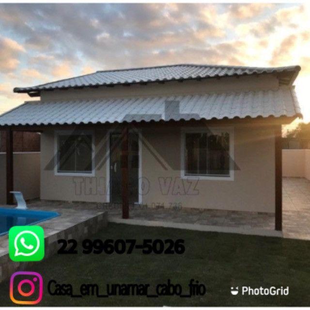 Linda casa com piscina e área gourmet - Foto 14