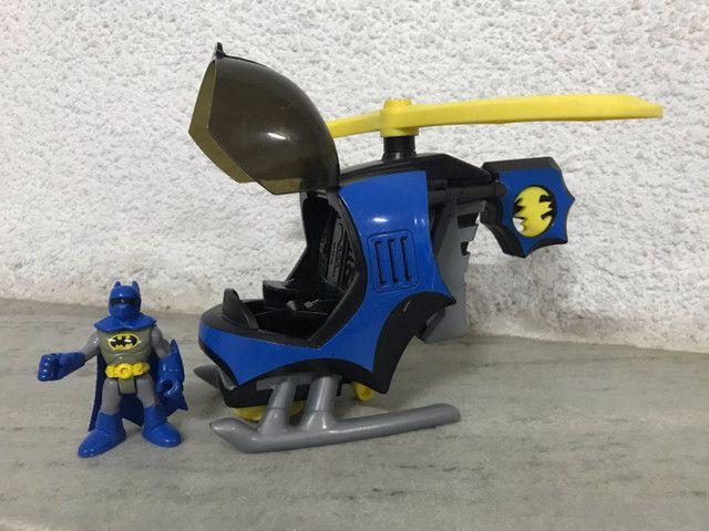 Helicóptero do batman Imaginext DC comics  - Foto 4