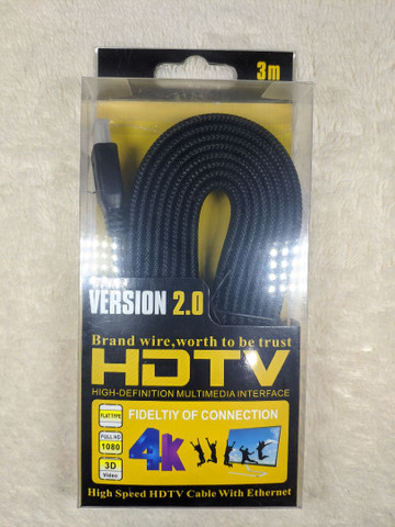cabo HDMI Version 2.0 4K - Hdtv - 3D - 3 metros