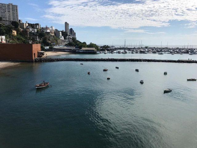 Apartamento Porto Trapiche 1 Quarto 94m2 Nascente Vista Mar Decorado Orla Contorno - Foto 8