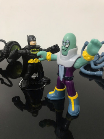 Bonecos Imaginext  Batman e Brianic DC comics  - Foto 5