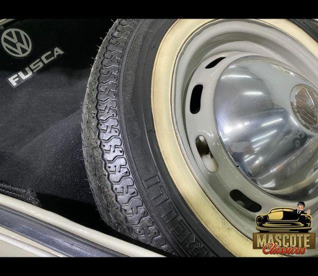 Fusca 1300 1970 *top*apenas 55.000kms*placa preta*financio direto - Foto 19