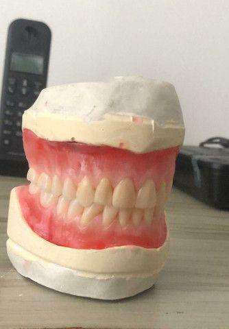 Ponte móvel ,dentadura ,ponte com grampo e protese de silicone ,a partir de 400