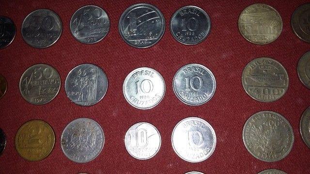 selos moedas e cédulas antigas - Foto 4