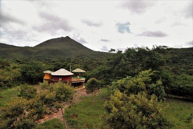 Vale do Capão Casa Artística 15 mil m2 com rio 2 quartos a menos de 1km da vila - Foto 20
