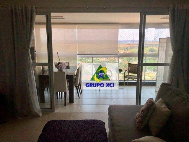 Apartamento com 3 dormitórios à venda, 137 m² por R$ 1.100.000,00 - Alphaville - Campinas/