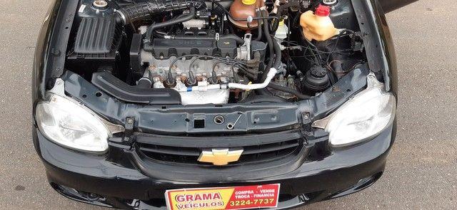 Chevrolet corsa clássic sedã preto completo motor 1.0 ano 2010 - Foto 8