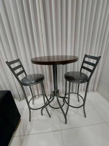 Mesa Bistro + duas Cadeiras  - Foto 2