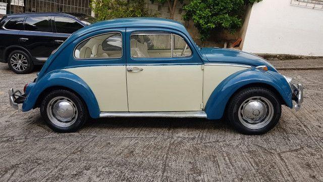 Fusca 1966 azul - Foto 10