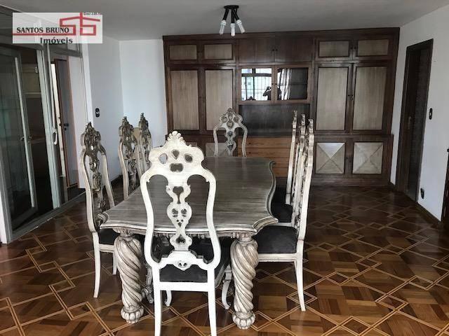 Cobertura 300 m² 4 dorm, sendo 1 empregada, 1 suíte, 3 salas, cozinha e 2 vagas para aluga - Foto 5