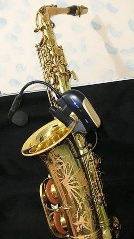 Microfone para instrumento de sopro, poucas vezes usado. - Foto 2