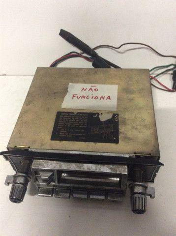 Antigo rádio carro opala fusca Maverick - Foto 5