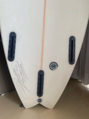 Prancha de Surf 5 10 Snapy Swallow Fritas - Foto 5