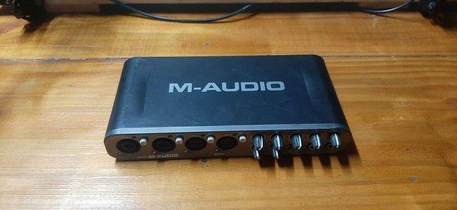 Interface de áudio M-áudio Fast Track Ultra