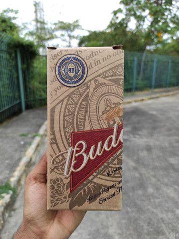 Copo original da Budweiser - vidro resistente - Foto 4