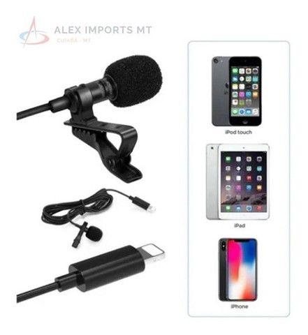 Microfone lapela para iphone  - Foto 2