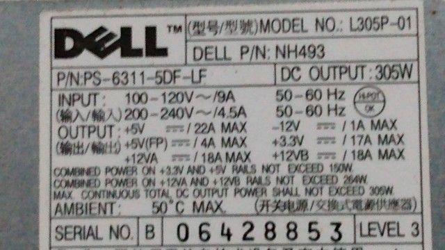 Fonte de pc Dell optlex 330. - Foto 3