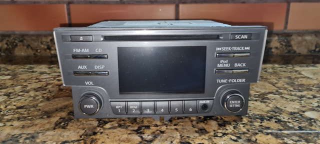 CD player original para Sentra 2015