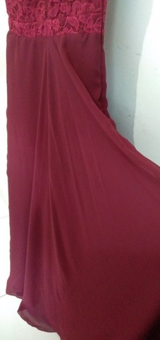 Vestido de festa 40/42 maravilhoso!!!M usei 1vez. - Foto 5