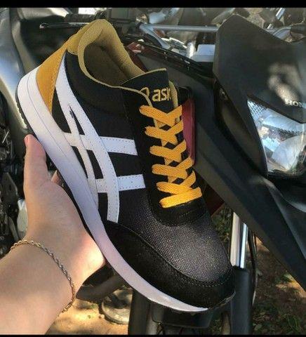 Vendo sapatênis Adidas e tênis Asics ( 110 com entrega) - Foto 5