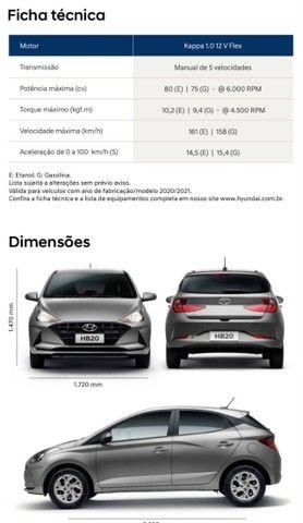 Hyundai HB20 Vision 2021/2022 Okm !!! - Foto 12