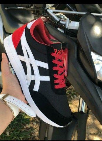 Vendo sapatênis Adidas e tênis Asics ( 110 com entrega) - Foto 4