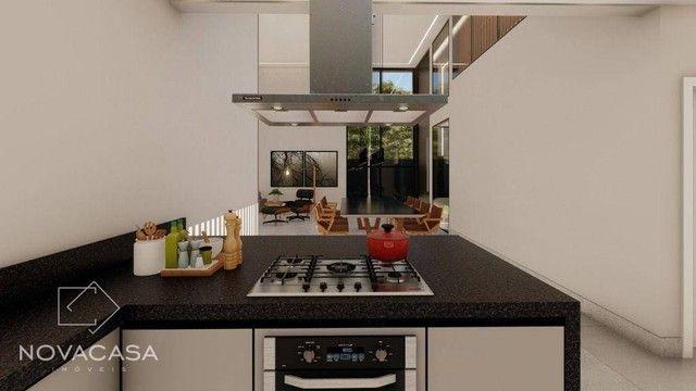 Casa com 4 dormitórios à venda, 318 m² por R$ 1.990.000,00 - Alphaville Lagoa dos Ingleses - Foto 14